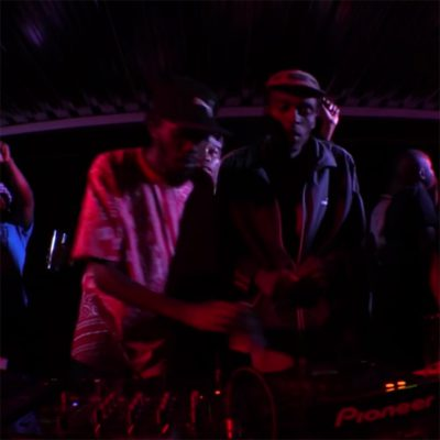 Black Major Aero Manyelo Boiler Room
