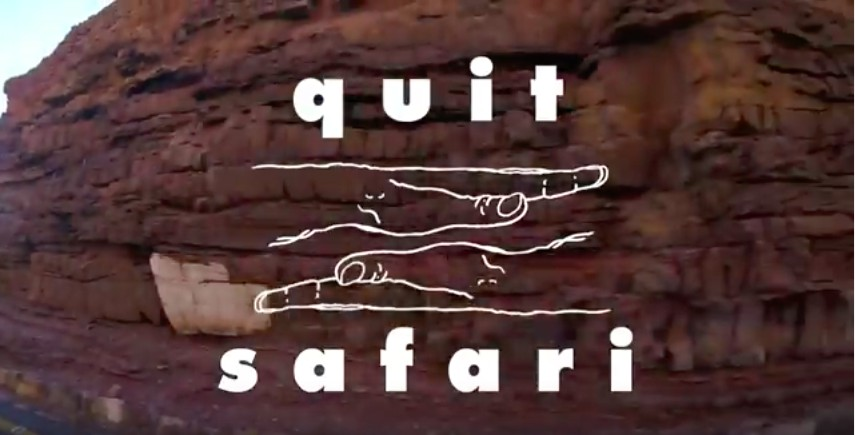 Black Major Quit Safari