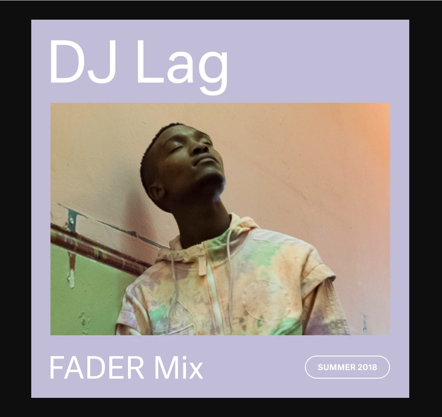 Black Major DJ Lag The Fader Mix Interview