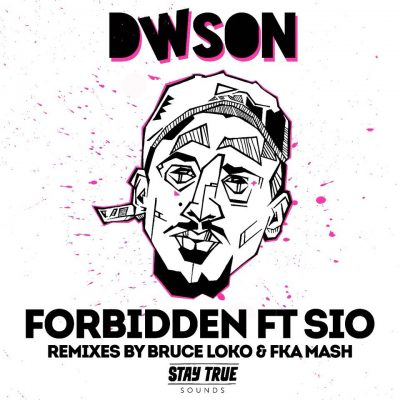 dwson sio remix forbidden cover art black major