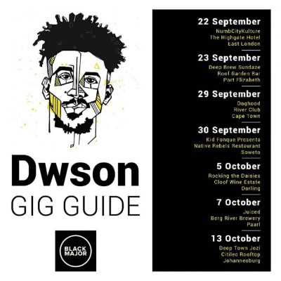 black major gig guide september october dwson