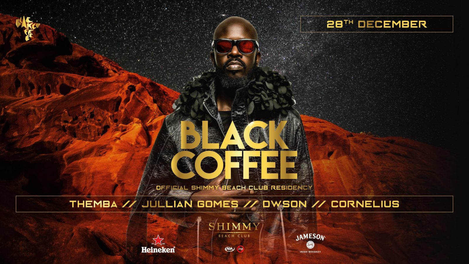 blackcoffee shimmy beacg club dwson